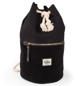 Kollegg Kollegg, Sailorbag Leather Canvas, black