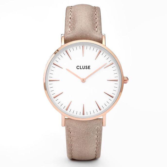 Cluse Cluse, La Bohème, rosegold white/hazelnut