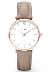 Cluse Cluse, Minuit, rosegold white/hazelnut