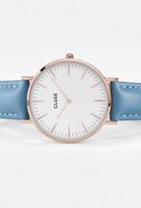 Cluse Cluse, Boho Chic,  rosegold white/retro blue