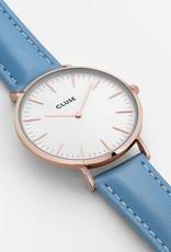 Cluse Cluse, La Bohème, rosegold white/retro blue