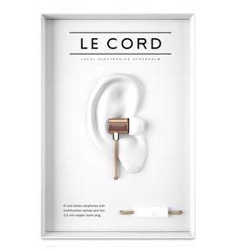 Le Cord LeCord, Ear-Phone, gold