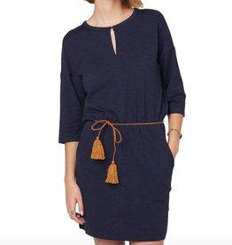 Sessun Sessun, Degraw Dress, navy, M