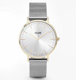 Cluse Cluse, La bohème mesh, gold / silver