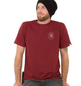 ZRCL ZRCL, Think T-Shirt, bordeaux, XL