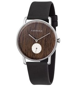 Kerbholz Kerbholz, Frida, Silver, Walnut, Midnight Black