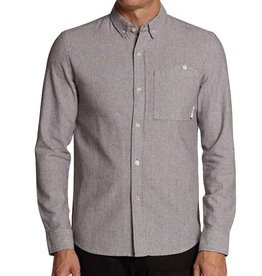 SLVDR SLVDR, Pivot Shirt, stripped linen, XL