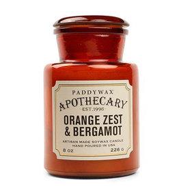 Paddywax Paddywax, Apothecary, orange zest, bergamont