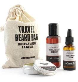 BKLYNSOAP Brooklyn Soap, Travel Beard Bag
