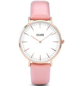 Cluse Cluse, La Bohème, rose gold white/pink