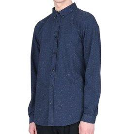 Dr.Denim Dr.Denim, Pete Shirt, blue neps, S