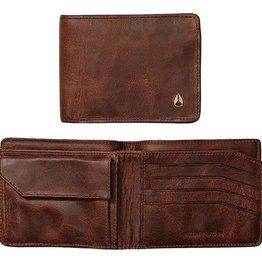 Nixon Nixon, Arc SE bi-Fold Wallet, brown