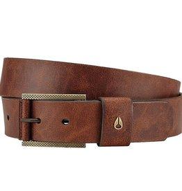 Nixon Nixon, Americana SE Slim Belt, brown, L