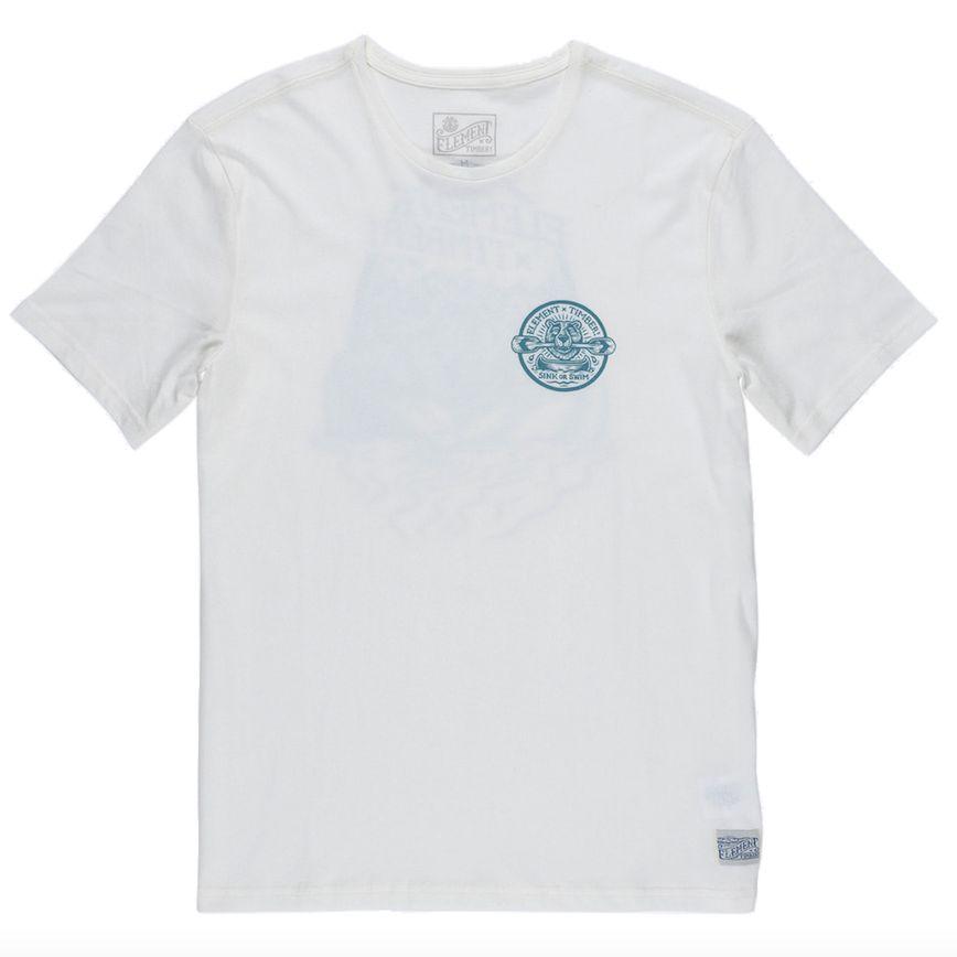 Element Clothing Element, Roar'n'Row T-Shirt, white, XL