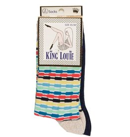 King Louie King Louie, 2-Pack Candy, blue, 35-38