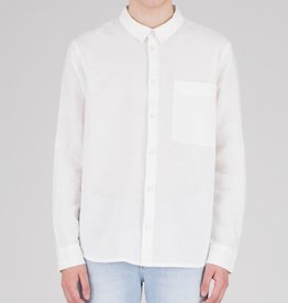 Dr.Denim Dr.Denim, Fred Relaxed Shirt, off white, S