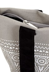 Alessandro Magnani, IKAT Shopper, grey/white