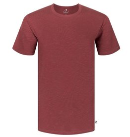 Bleed Bleed, Basic T-Shirt, dark red flamé, XL