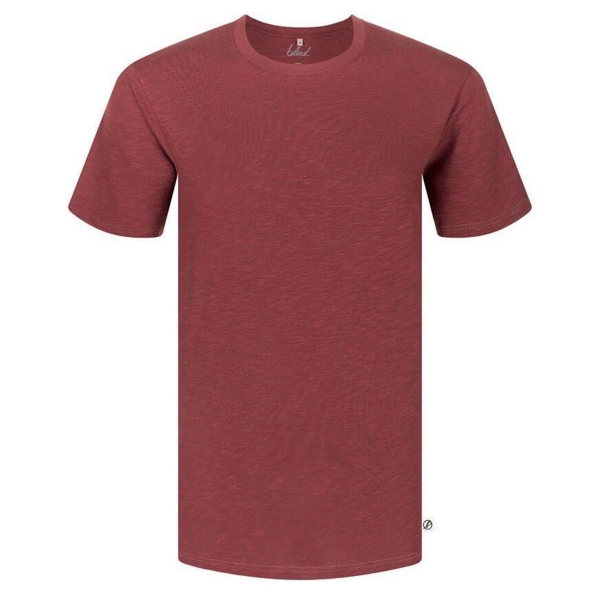 Bleed Bleed, Basic T-Shirt, dark red flamé, XL