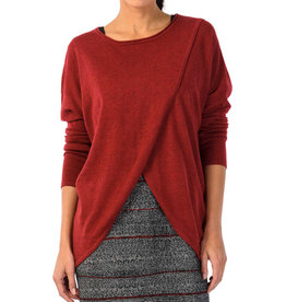 Skunkfunk Skunkfunk, Gazeta Sweater, dark red, S(2)