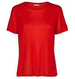 Minimum Minimum, Heidl T-Shirt, fiery red, XS