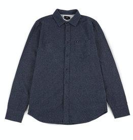 Obey Obey, Harrington Woven Shirt, navy, XL