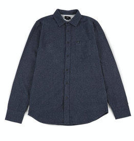 Obey Obey, Harrington Woven Shirt, navy, L