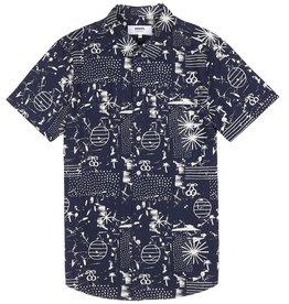Wemoto Wemoto, Lupe Hemd, navy, M