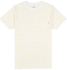 Wemoto Wemoto, Blake Stripe, offwhite-yellow, XL