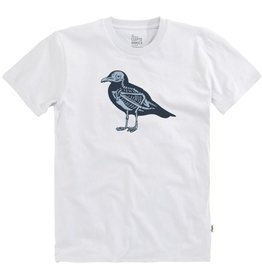 Cleptomanicx Cleptomanicx, Tee X-Ray Gull, white, XL