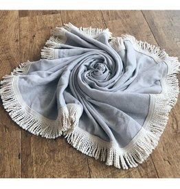 L'Anse, Towel, rund, nature, 150cm