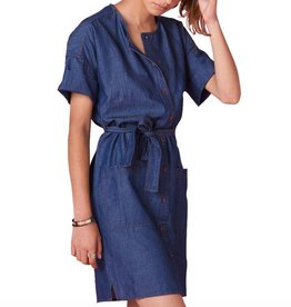 Sessun Sessun, Dumbay Kleid, denim, M