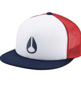 Nixon Nixon, Ridge Trucker Hat, red/white/blue