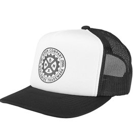 Nixon Nixon, Low Trucker Hat, black/white