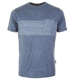 pallyhi PallyHi, Bamboo Pocket T-Shirt, heather sky, XL