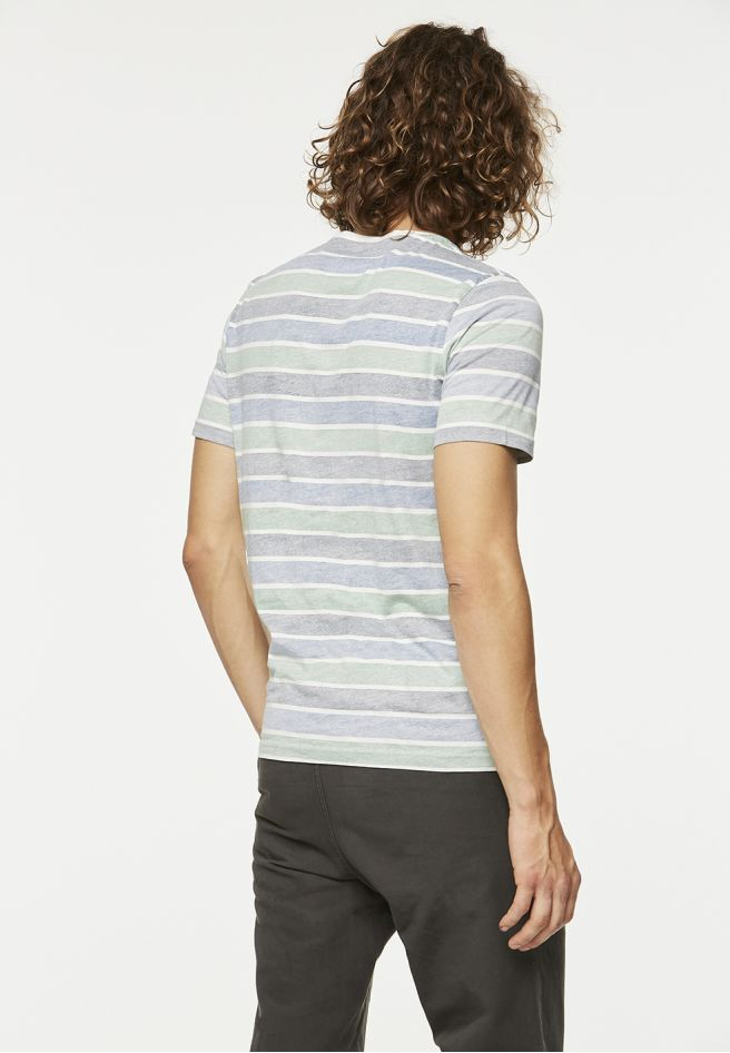 armedangels Armedangels, James inside stripe, indigo blue, M