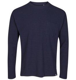 Minimum Minimum, strib, pullover, navy, S