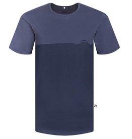 Bleed Bleed, Wave T-Shirt, blau, M