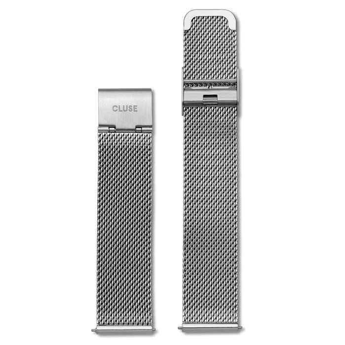 Cluse Cluse, La Bohème Mesh Strap, silver