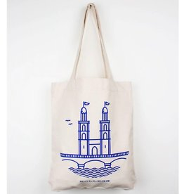 Kollegg Kollegg, Totebag Grossmünster, canvas
