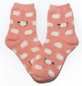 Cutie Socks Cutie Socks, Schafe zählen, pink, 36-40