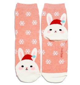 Cutie Socks Cutie Socks, Snowy on the Toe, Hase, 36-40