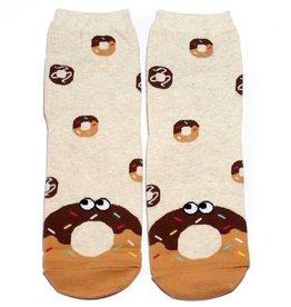 Cutie Socks Cutie Socks, Snack Socks, Donut, 36-40