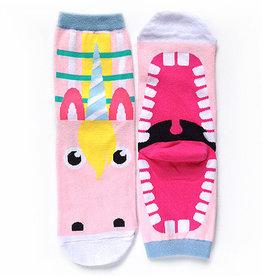 Cutie Socks Cutie Socks, Big Mouth Unicorn, 36-40