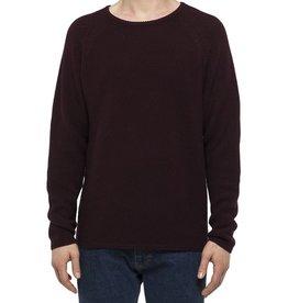 RVLT RVLT, 6261 Knit Pattern, darkred, L