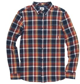 Element Clothing Element, Buffalo LS Shirt, Eclipse Navy, L