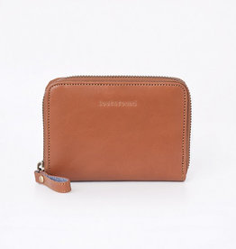 Lost & Found Accessories Lost & found, Small Zip Around Wallet, Caramel