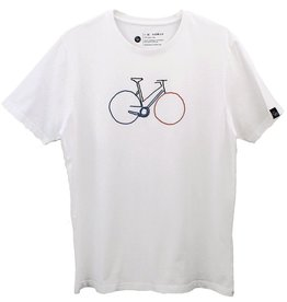 Ginga Ginga, Bike T-Shirt Herren, white, S