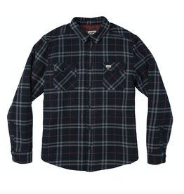 RVCA RVCA, Andre Reynolds Plaid Flannel, new navy, L