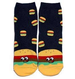 Cutie Socks Cutie Socks, Snack Socks, Burger, 36-40